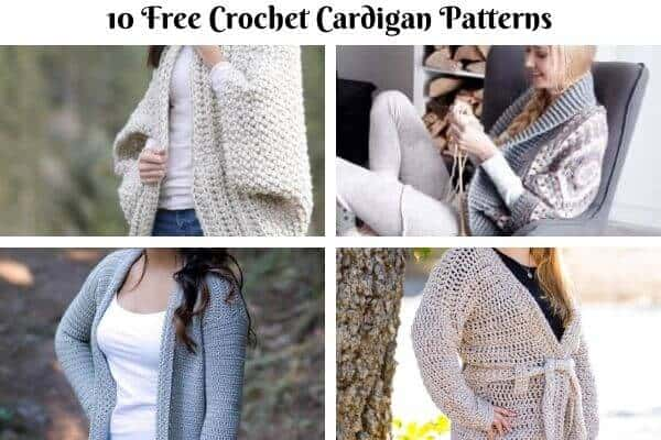 Cardigan Crochet Pattern Collection Cover