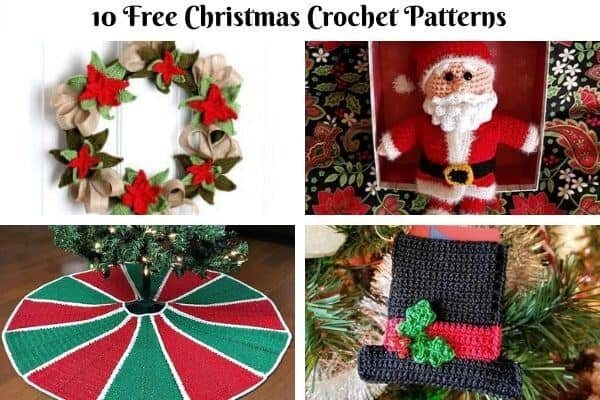 Christmas Crochet Pattern Collection Cover