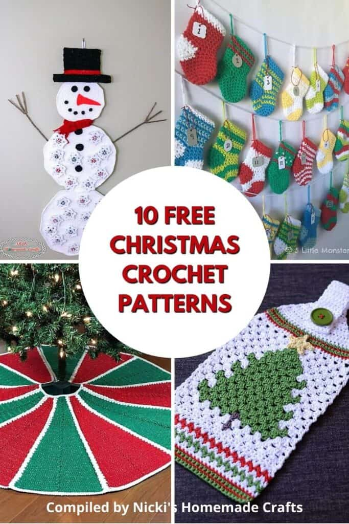 Christmas Free Crochet Pattern Collection