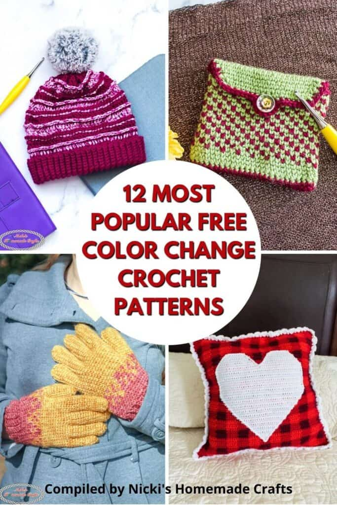 Color Change Crochet Pattern Collection