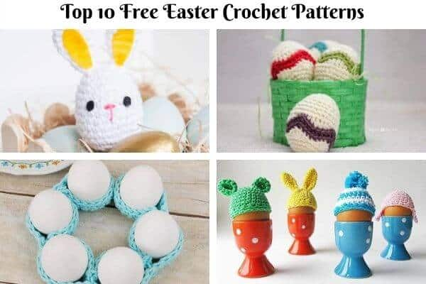 Easter Crochet Pattern Collection Cover