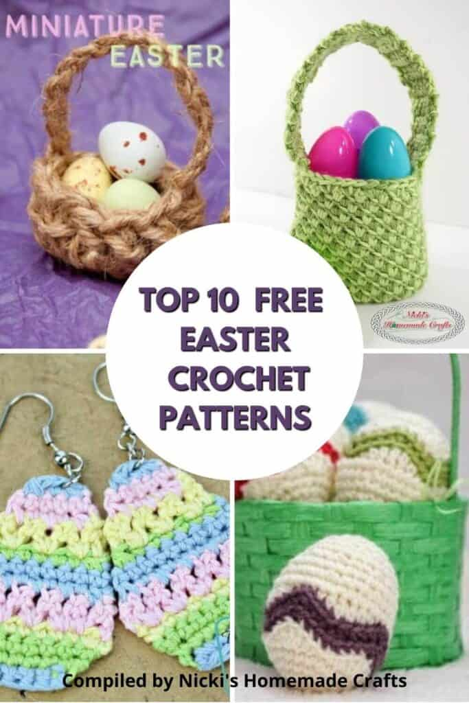 Easter Free Crochet Pattern Collection