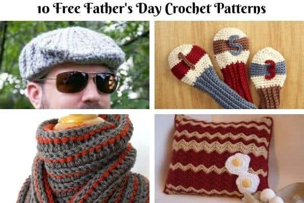 Father's Day Crochet Pattern Collection Cover