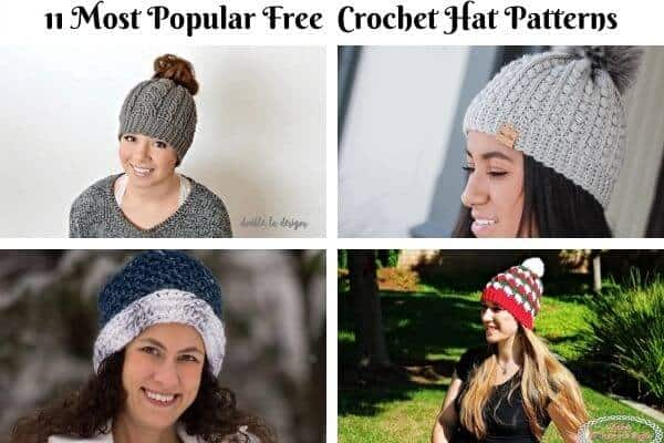 Hat Crochet Pattern Collection Cover