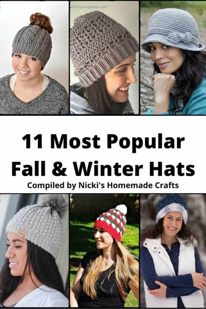Hats Crochet Pattern Collection