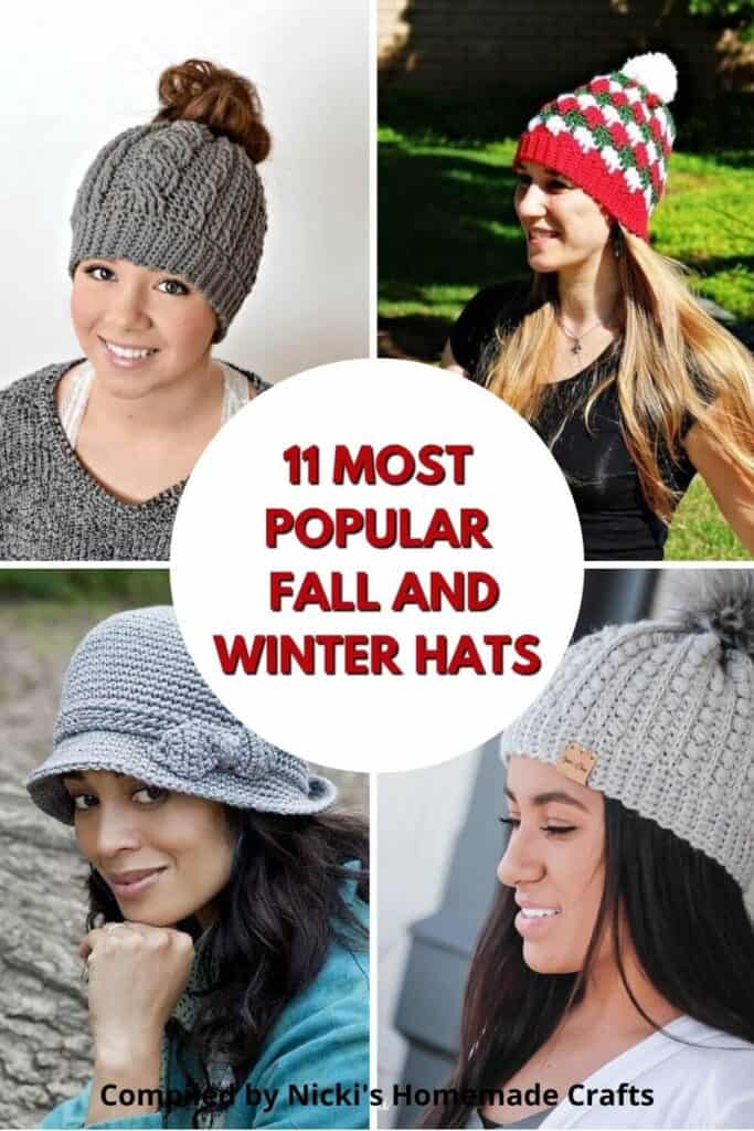 Hats Free Crochet Pattern Collection