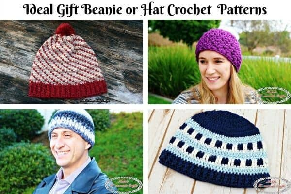 Ideal Beanie Crochet Pattern Collection Cover