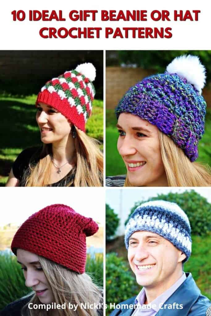 Ideal Beanie Free Crochet Pattern Collection