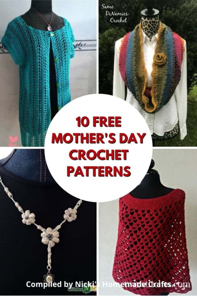Mom's Day Crochet Pattern Collection Free