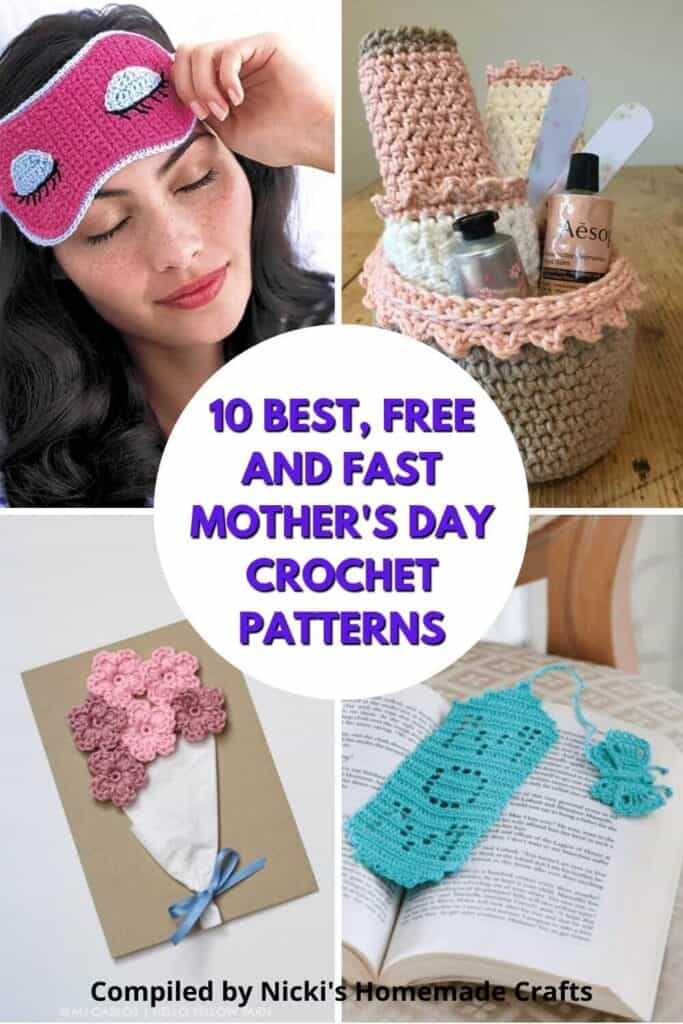 Mother's Day Crochet Pattern Collection