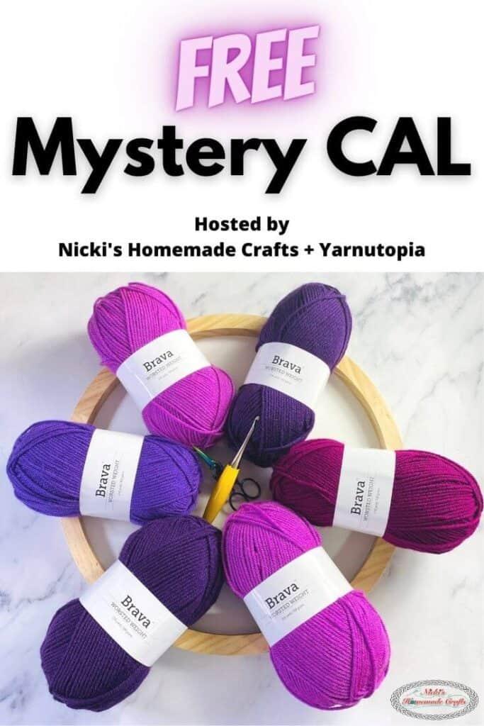 Mystery CAL Nicki's Homemade Crafts and Yarnutopia