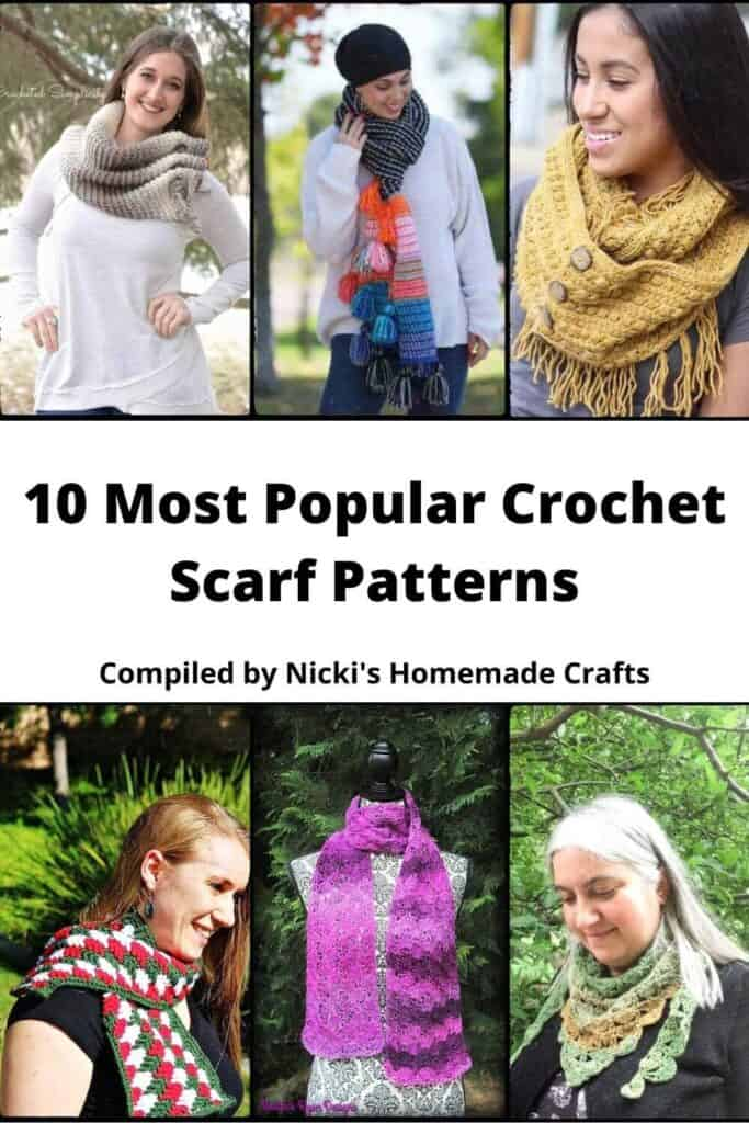 Scarf Crochet Pattern Collection
