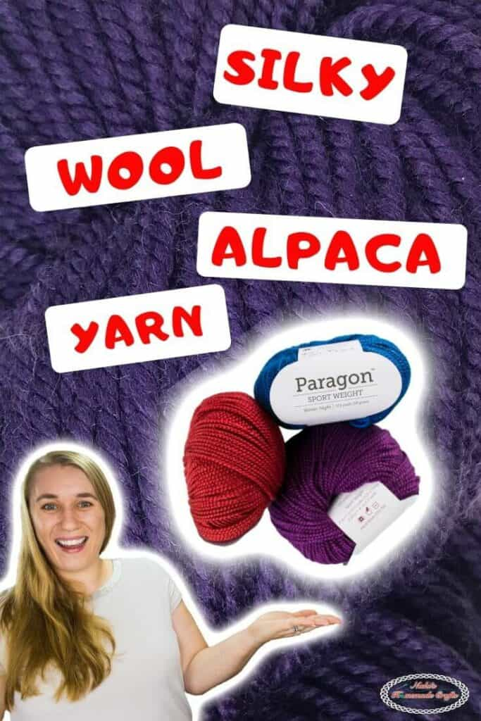 Silky Wool Alpaca Yarn by WeCrochet