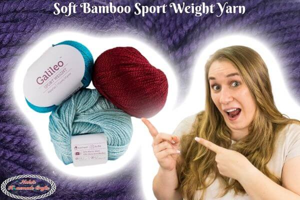 Soft Bamboo Sport weight Yarn