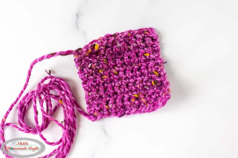 small purple square
