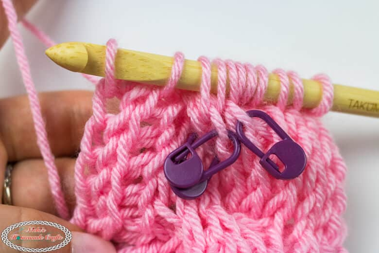 next stitches for Tunisian Crochet Cable