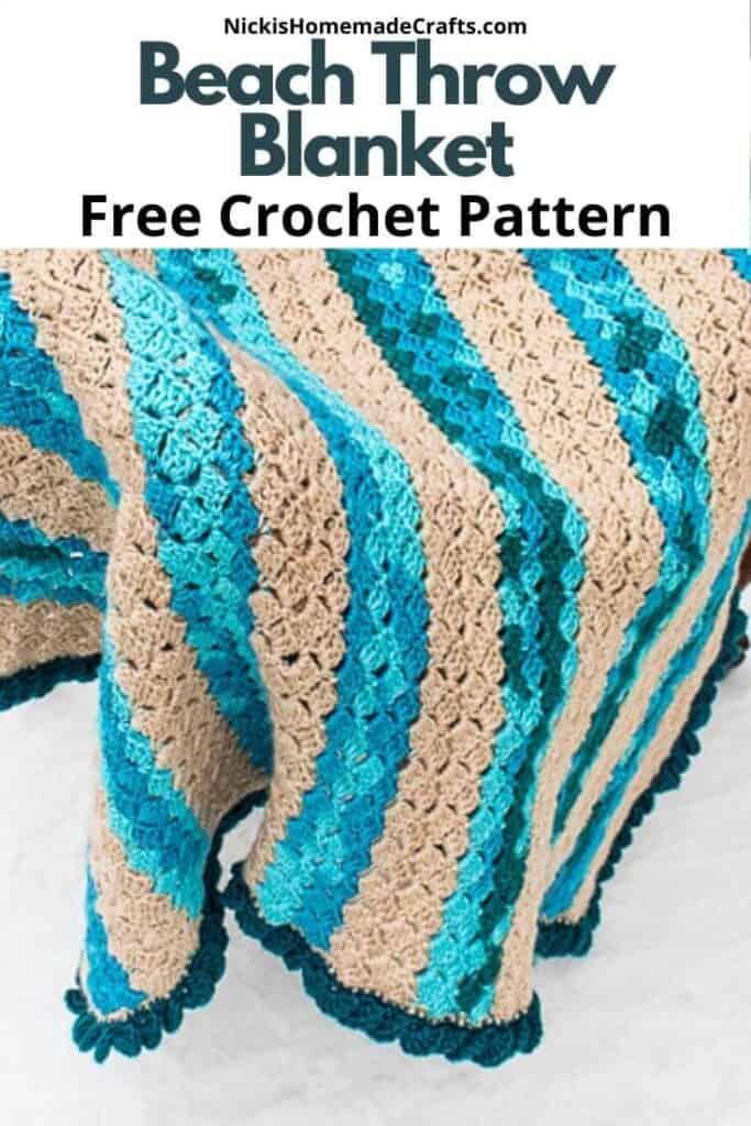 Beach Crochet Blanket - Free Pattern