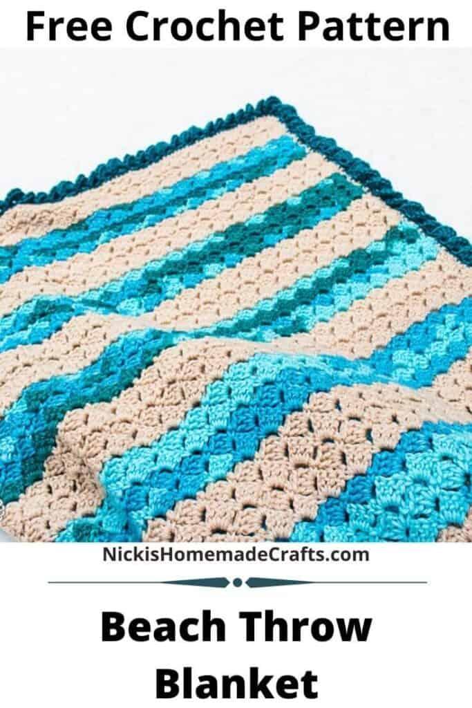 beach crochet blanket pattern