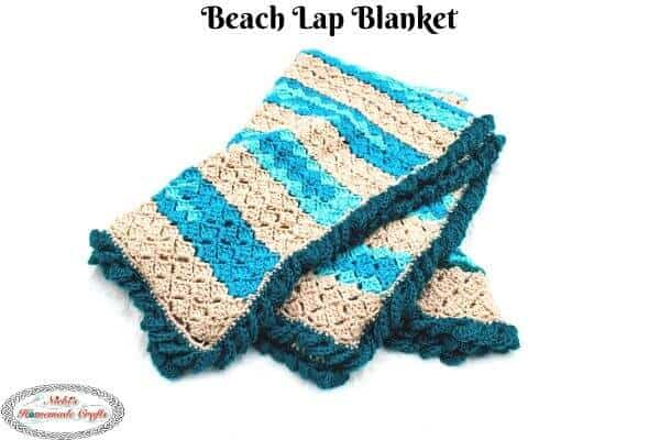 Easy Beach Crochet Blanket – Free Pattern for the Summer
