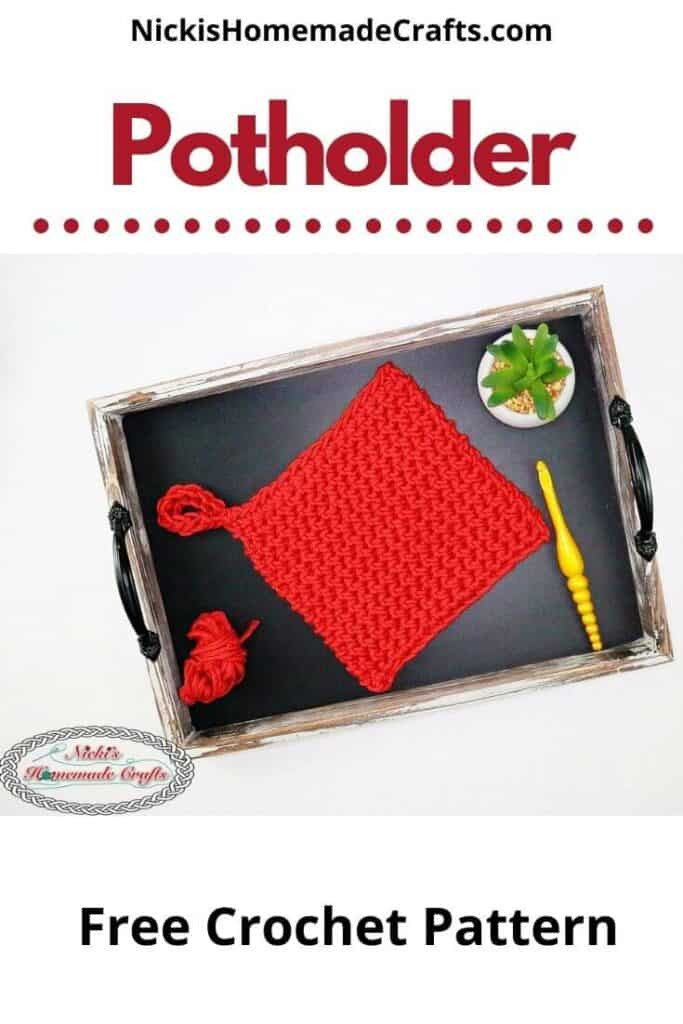 Crochet Potholder Pattern