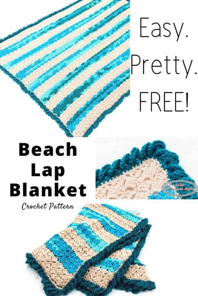 Free Beach Throw Blanket Crochet Pattern