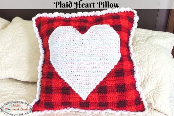 Plaid Crochet Multi-Color Crochet technique