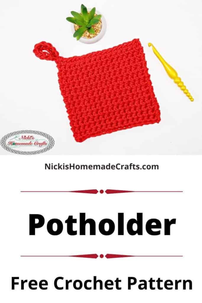Potholder - Free Crochet Pattern