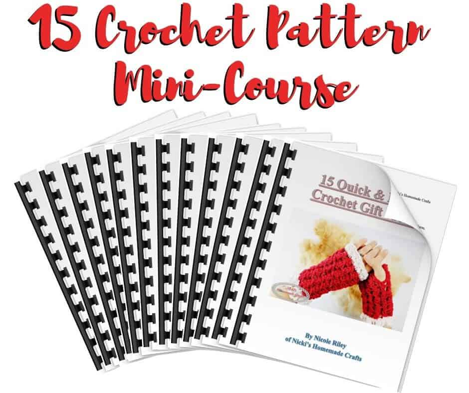 15 Crochet Patterns Mini-Course - Quick & Easy Gift Ideas
