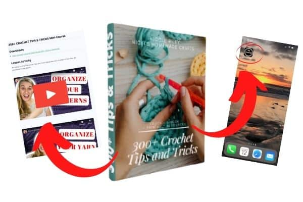 300+ Crochet Tips and Tricks Ebook Videos – Interactive and Detailed