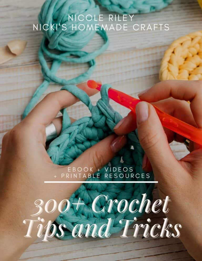 Over Crochet Tips and Tricks