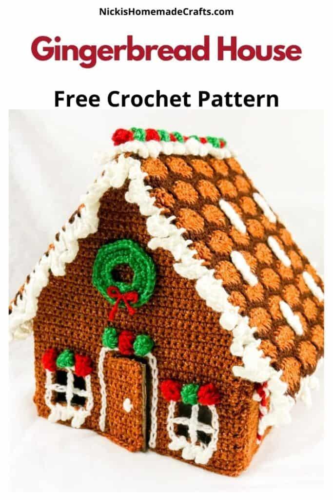 Gingerbread House - Free Crochet Pattern