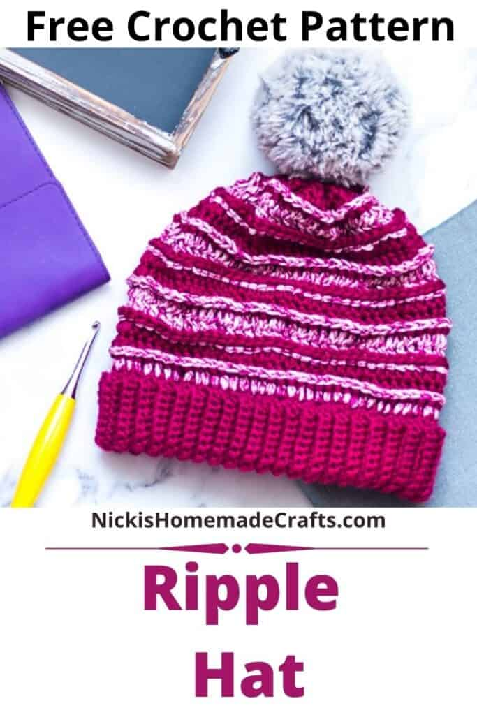 Ripple Hat - Free Crochet Pattern