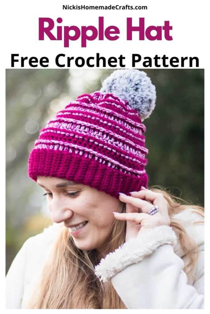 Ripple Hat Pattern