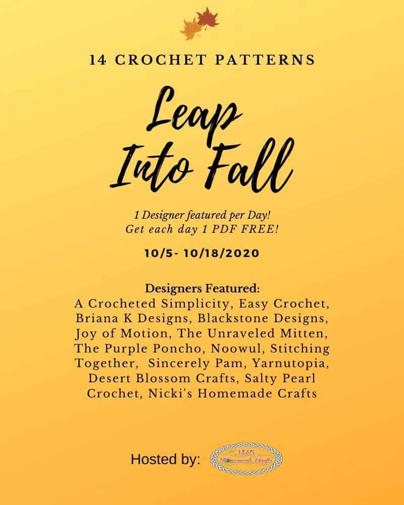 Leap into Fall 14 Free Crochet Patterns