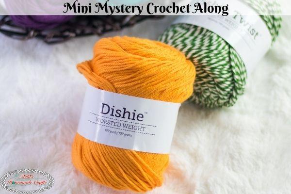 Mini Mystery Crochet Along – Fun, Easy & Free Pattern using Worsted Yarn