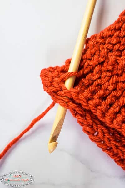 Crochet together Seam of Pumpkin