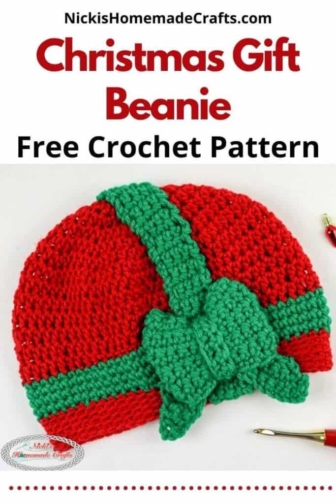 Christmas Gift Beanie Pattern