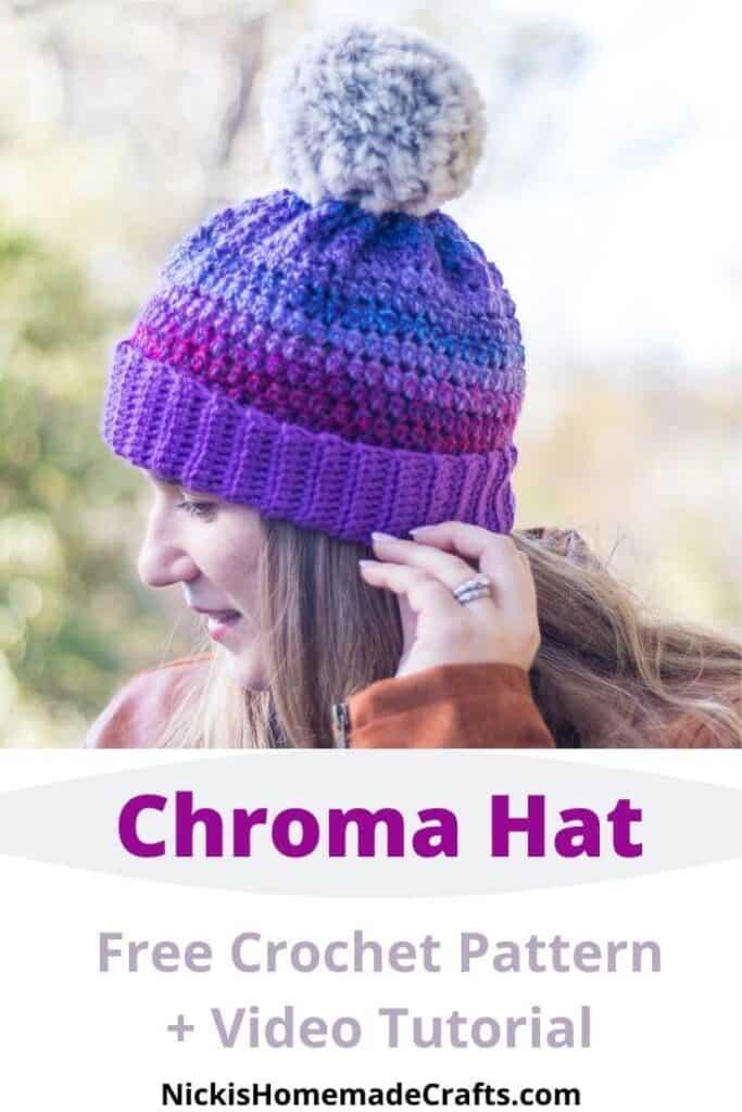 Crochet Chroma Hat - Free Pattern