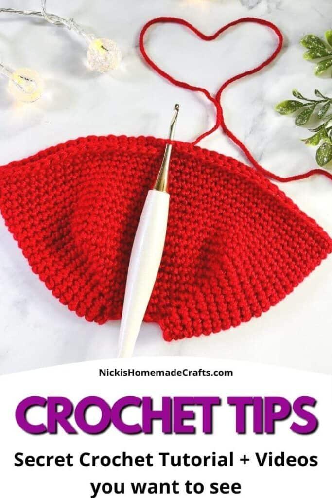 Secret Crochet Tips and Tutorials