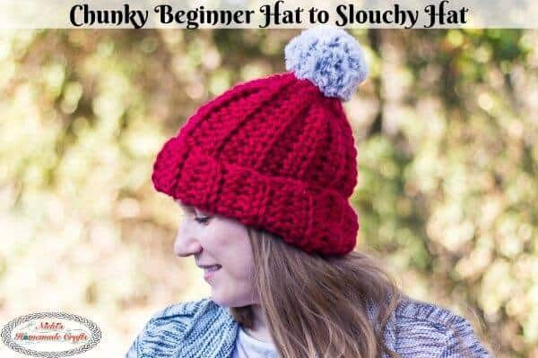 Chunky Beginner Hat Free Crochet Pattern