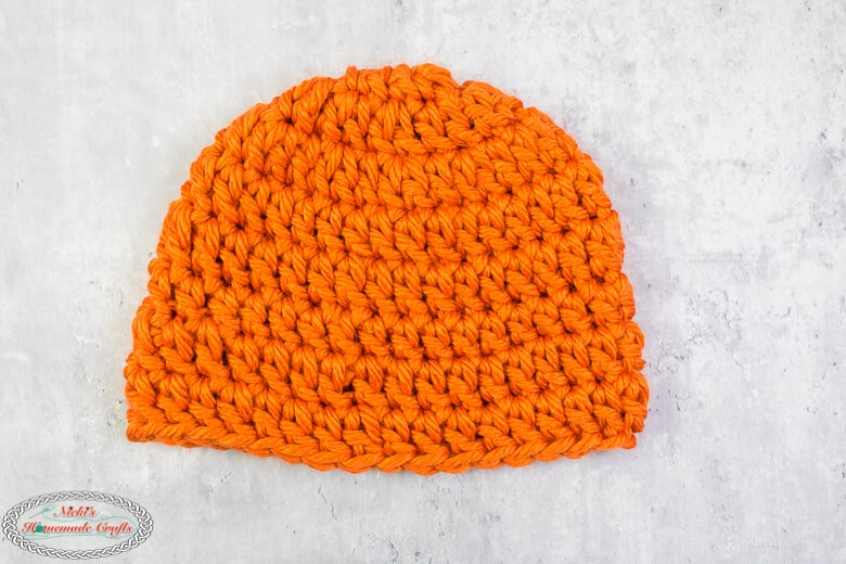 Finished Chunky Beanie