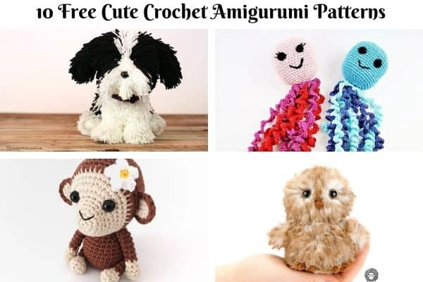 10 Free Cute Crochet Amigurumi Patterns