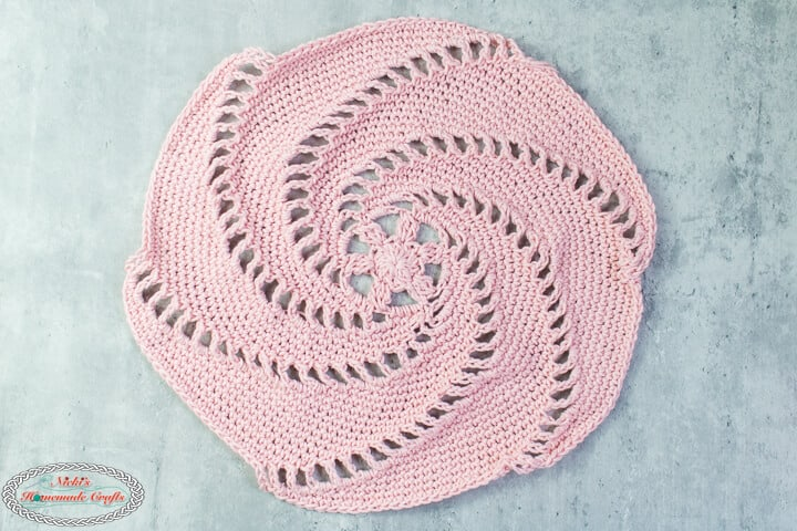 Crochet Spiral Lovey