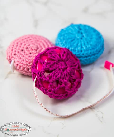 Crochet Measuring Tape Cover Free Patterns