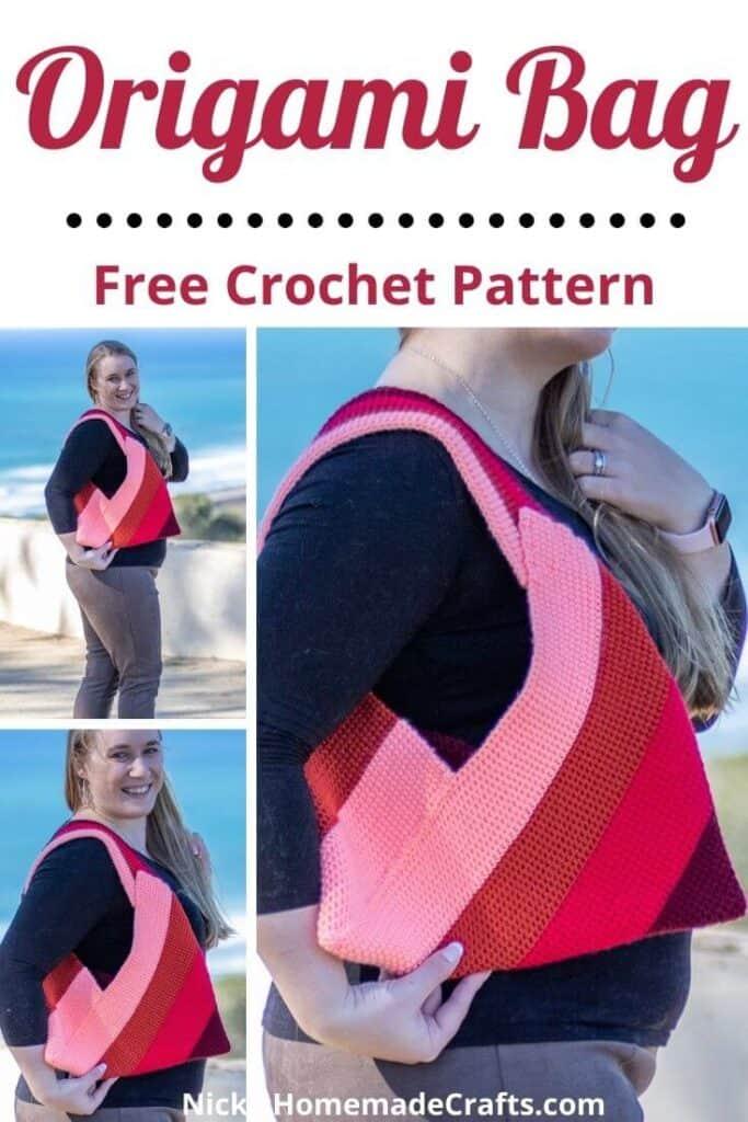 Crochet Origami Bag - Free Pattern
