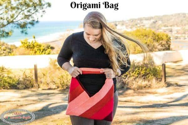 Amazing Crochet Origami Bag – Easy Free Pattern using Thermal Stitch