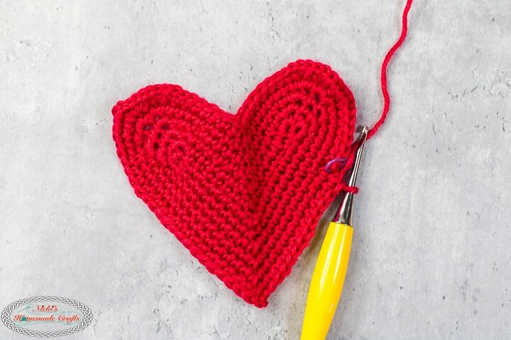 crochet full heart