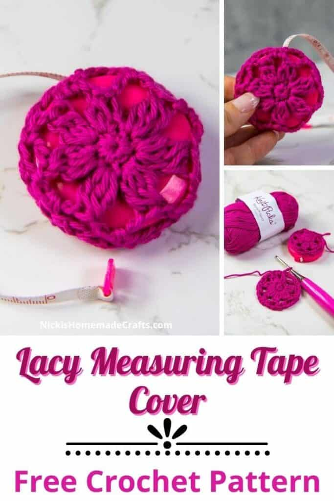 Lacy Measuring Tape Covers - Free Crochet Pattern