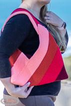 Origami Bag and handle done using Japanese folding method