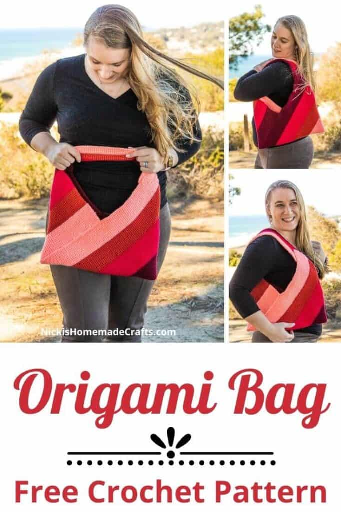 Origami Bag - Free Crochet Pattern